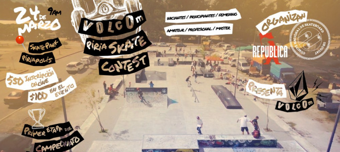 Imperdible evento de Skate en Piriápolis!