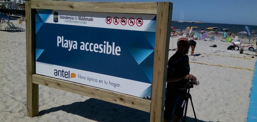Playa accesible: playas para todos en Piriápolis!