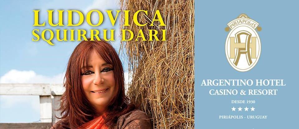 Ludovica Squirru en Piriápolis presentando el Horóscopo Chino 2019!