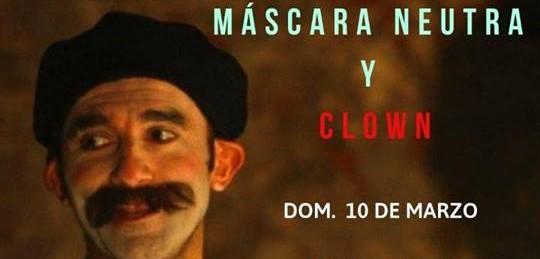 Taller de Mascara Neutra y Clown en Piriápolis!